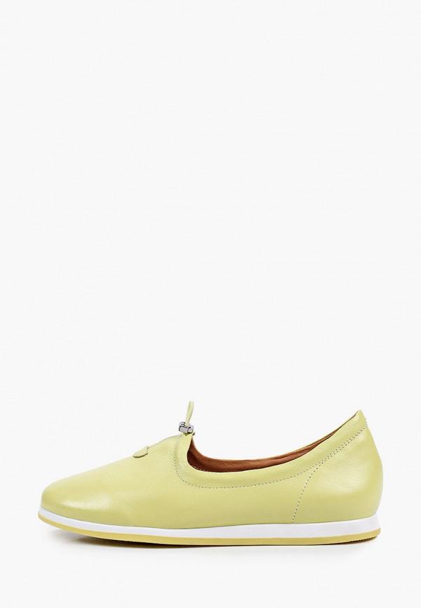 женские слипоны rita bravuro, желтые