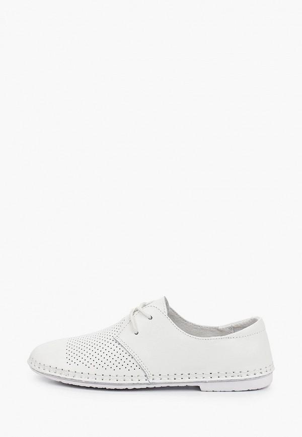 женские низкие ботинки m25, белые