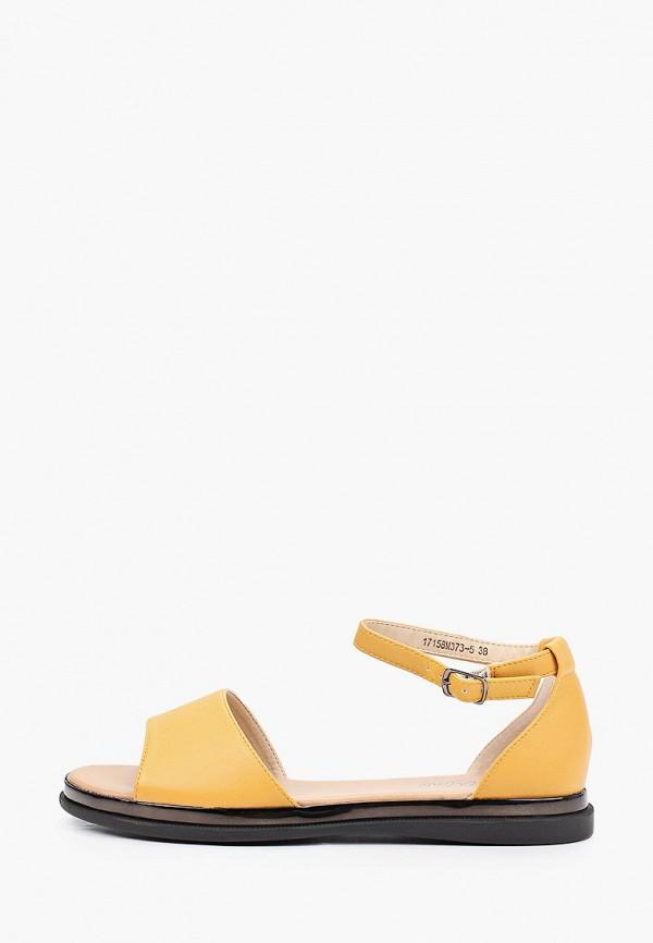 женские сандалии bona mente, оранжевые