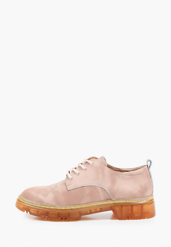 женские ботинки rita bravuro, бежевые