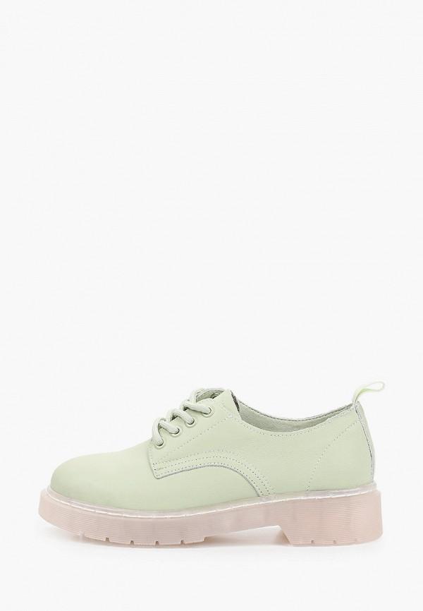 женские ботинки-оксфорды rita bravuro, зеленые