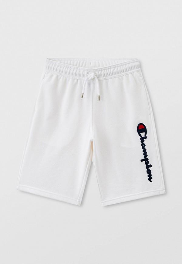 спортивные шорты champion для мальчика, белые