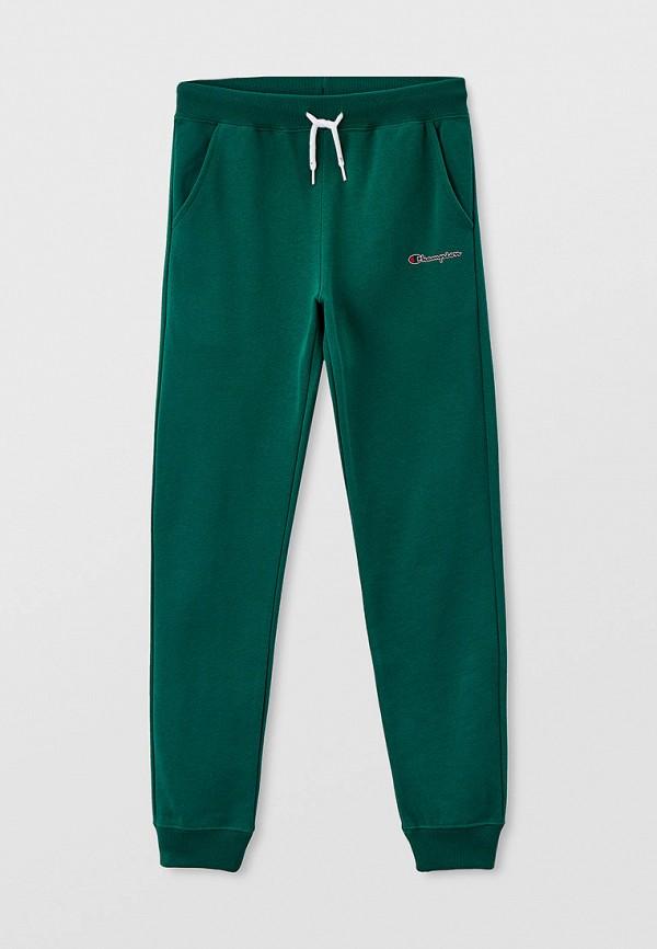 спортивные брюки champion для мальчика, зеленые