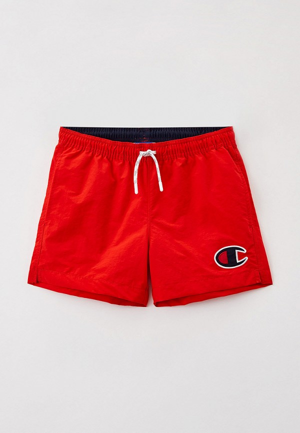спортивные шорты champion для мальчика, красные
