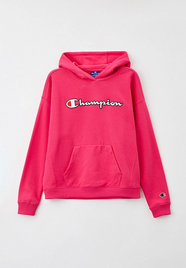 худи champion для девочки, розовые
