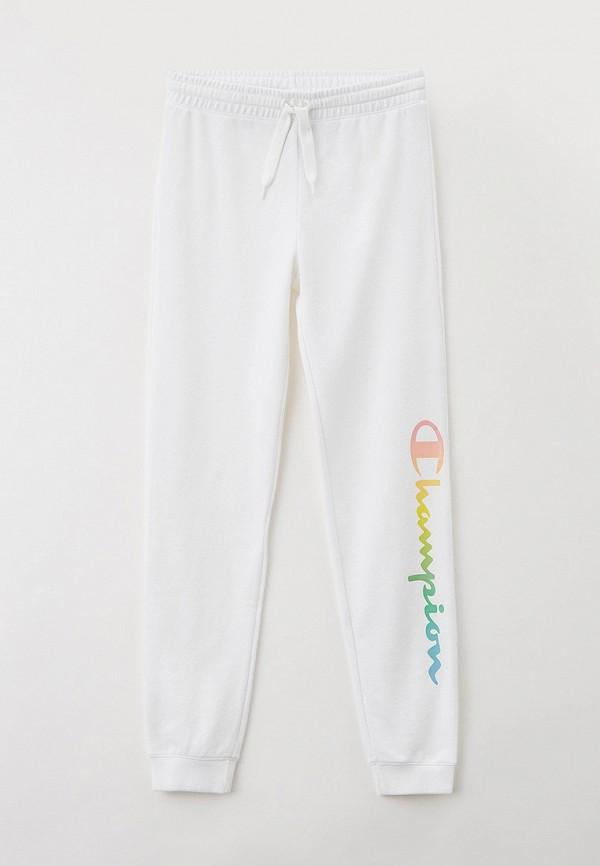 спортивные брюки champion для девочки, белые