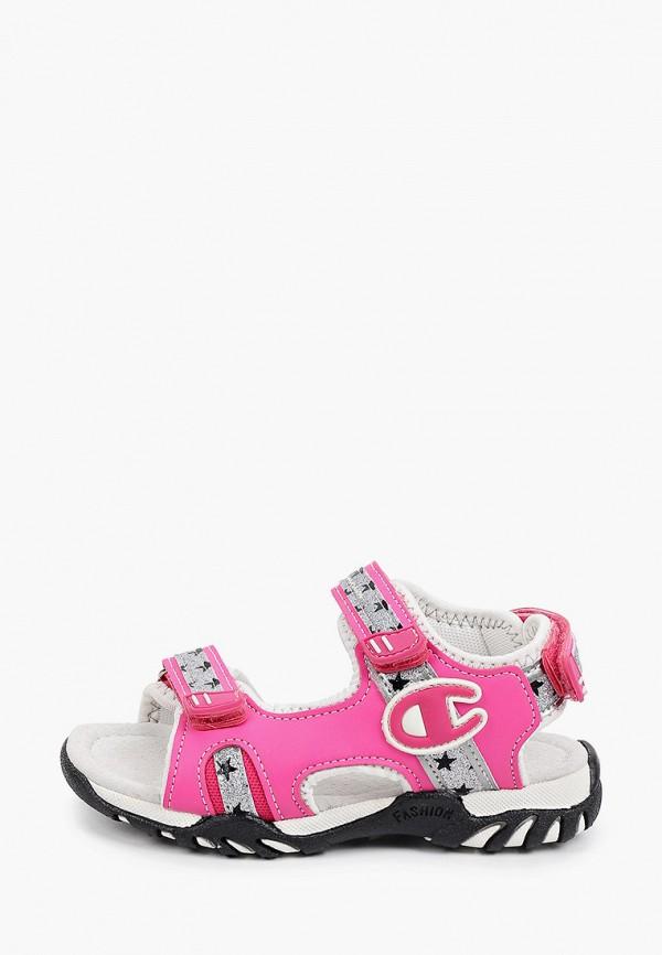 сандалии champion для девочки, розовые