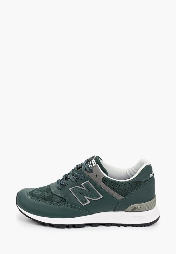 женские низкие кроссовки new balance, зеленые