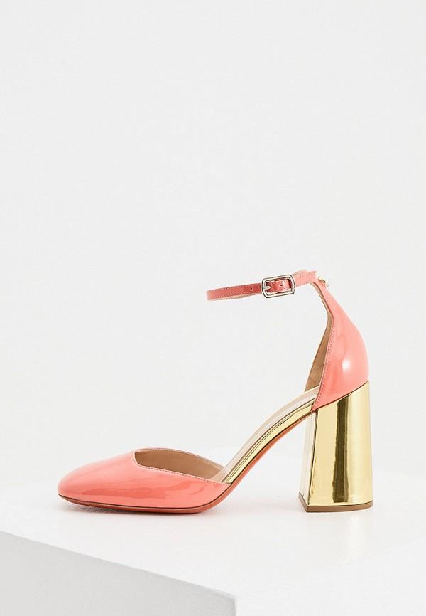 женские туфли baldinini, розовые