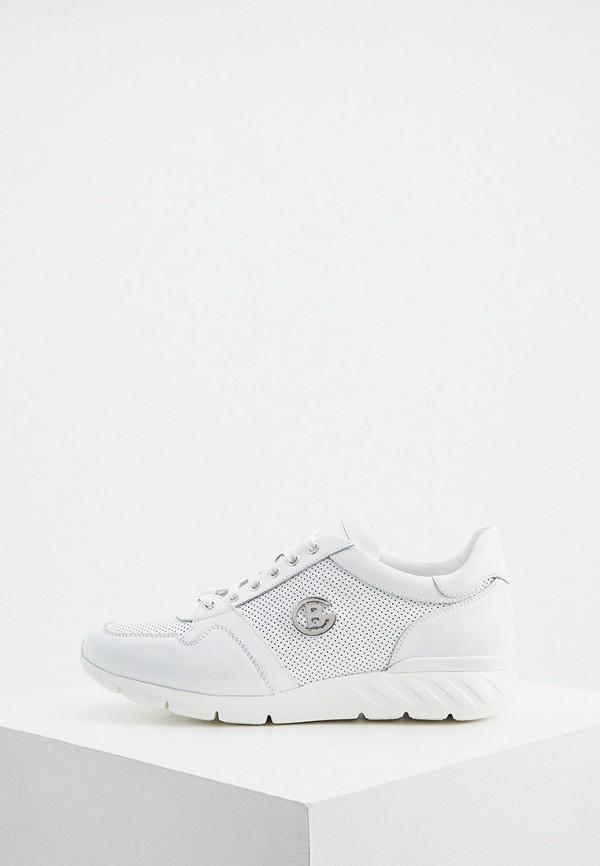 мужские низкие кроссовки baldinini, белые