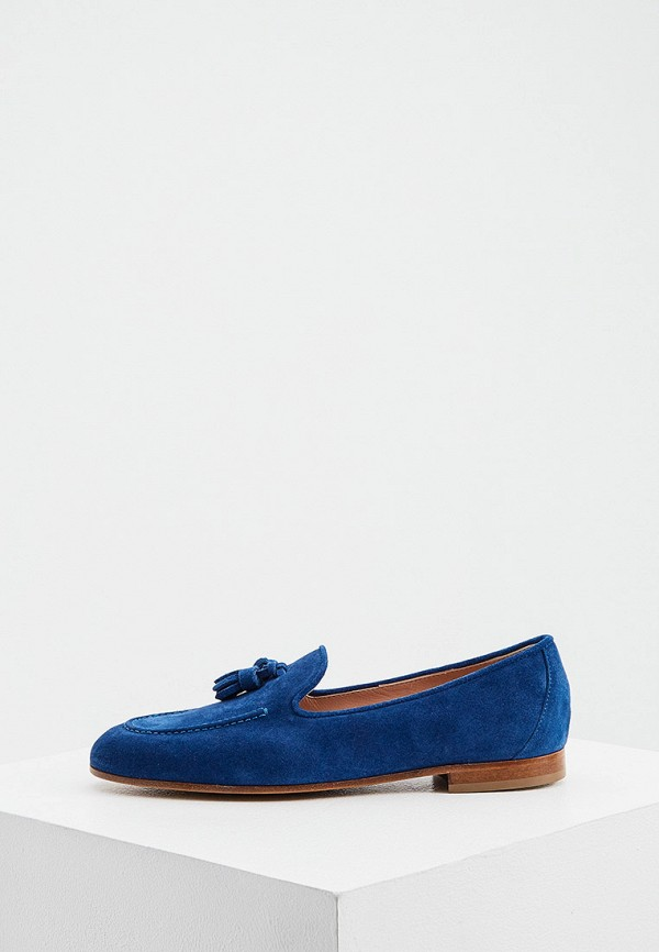 женские лоферы baldinini, синие