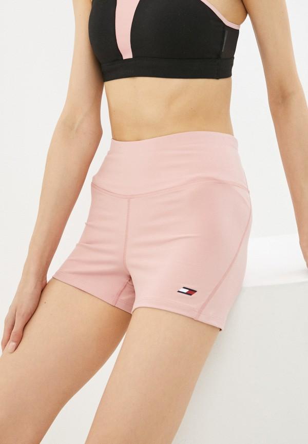 Шорты спортивные Tommy Hilfiger розового цвета