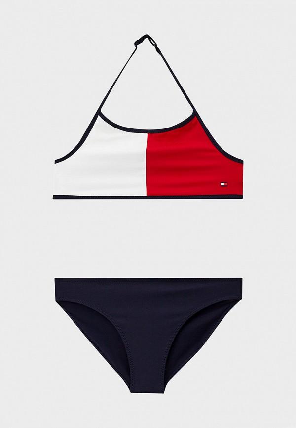 купальник tommy hilfiger для девочки, разноцветный