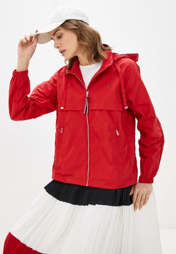 Куртка Tommy Hilfiger красного цвета