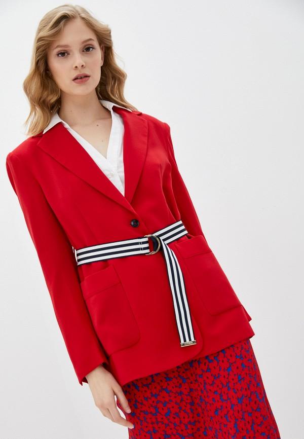 Пиджак Tommy Hilfiger красного цвета