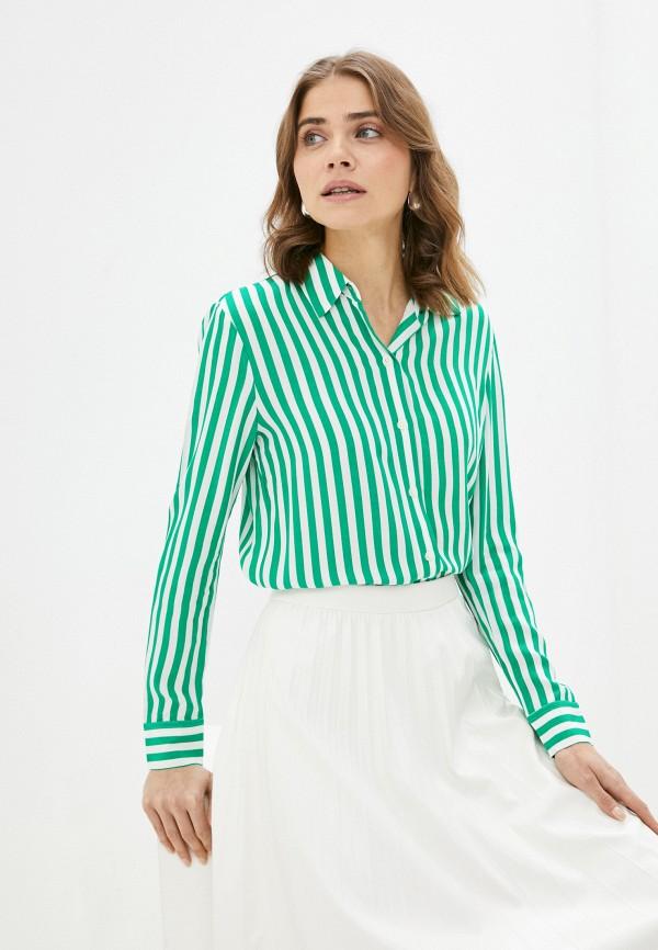 Блуза Tommy Hilfiger зеленого цвета