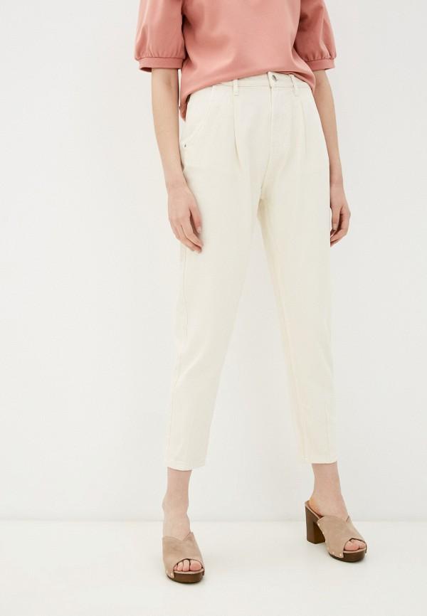 женские прямые брюки ovs, бежевые