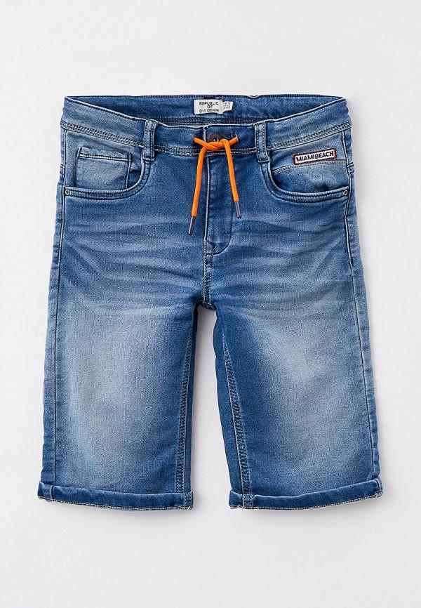 джинсовые шорты ovs для мальчика, синие