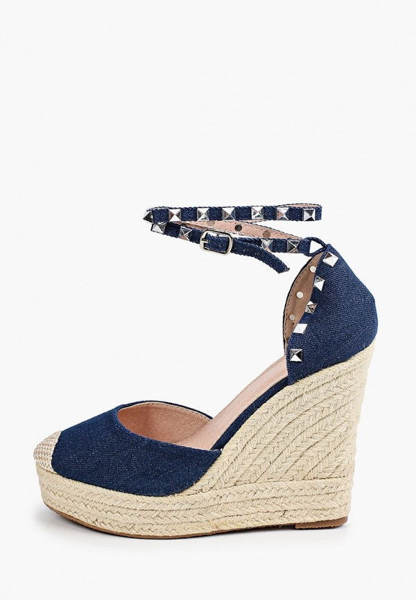 женские туфли malien, синие
