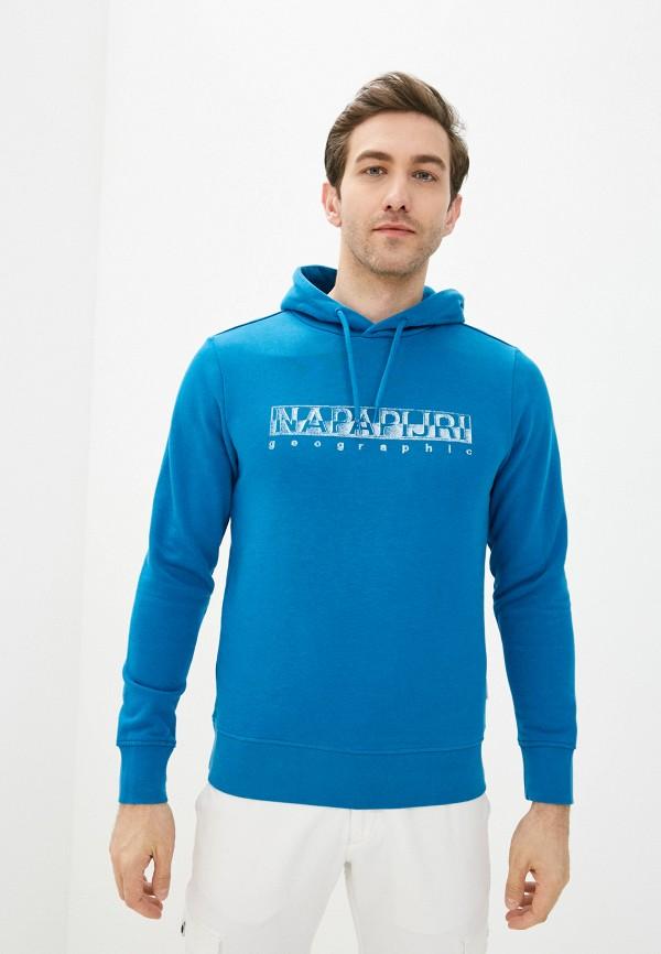 мужские худи napapijri, синие