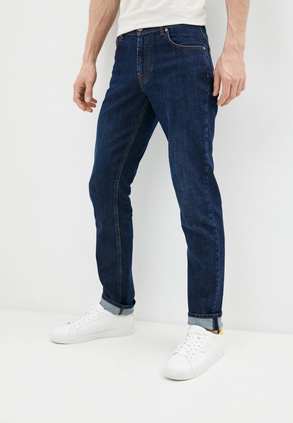 мужские зауженные джинсы corneliani, синие