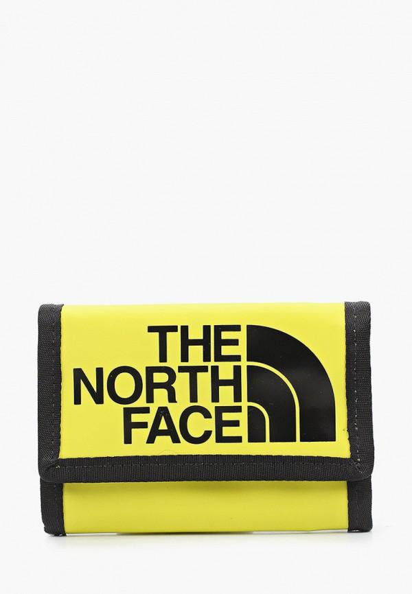 женский кошелёк the north face, зеленый