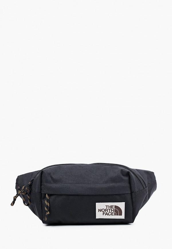 женская поясные сумка the north face, черная