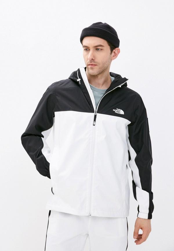 мужская куртка the north face, белая