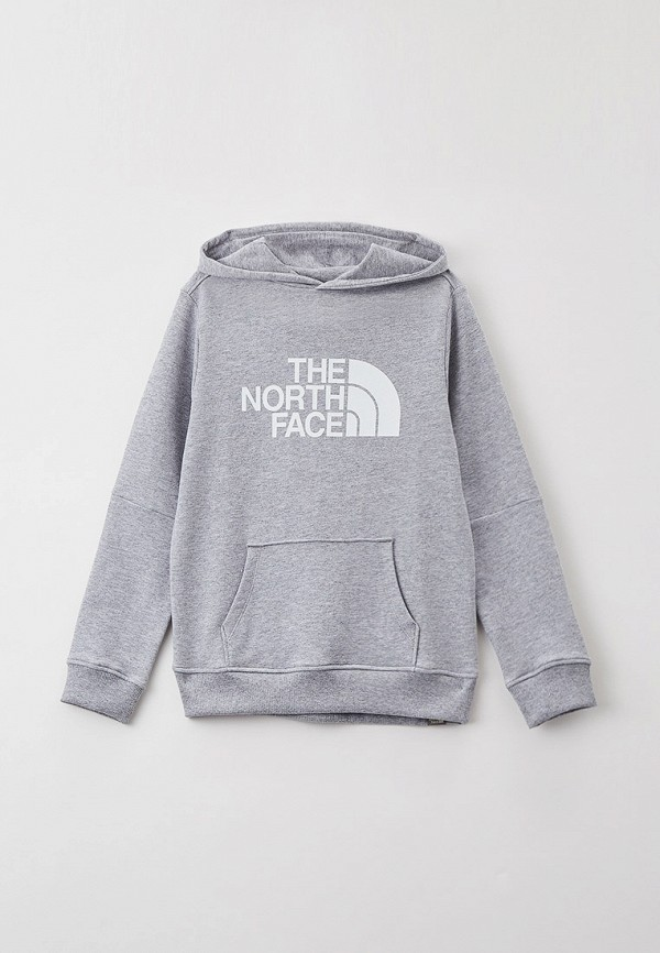 худи the north face малыши, серые