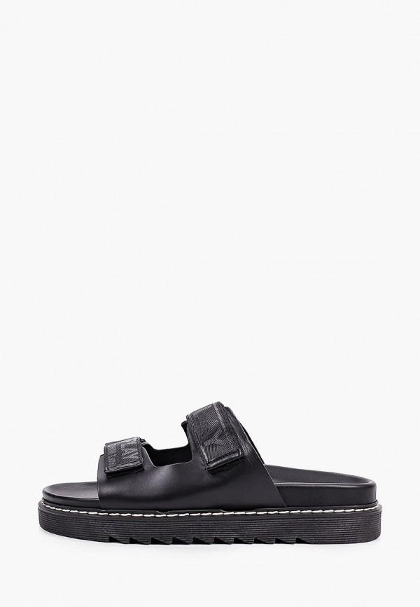 мужские сандалии replay, черные