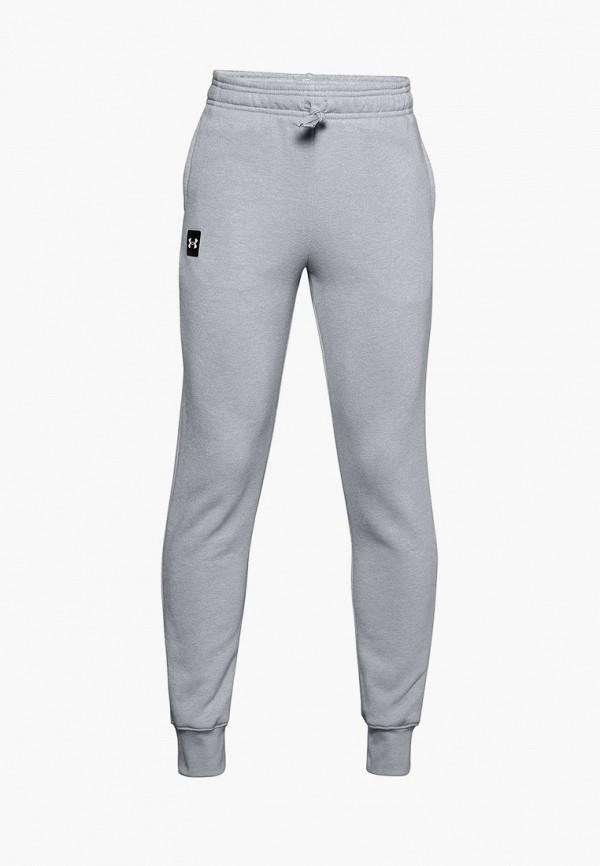 спортивные брюки under armour для мальчика, серые