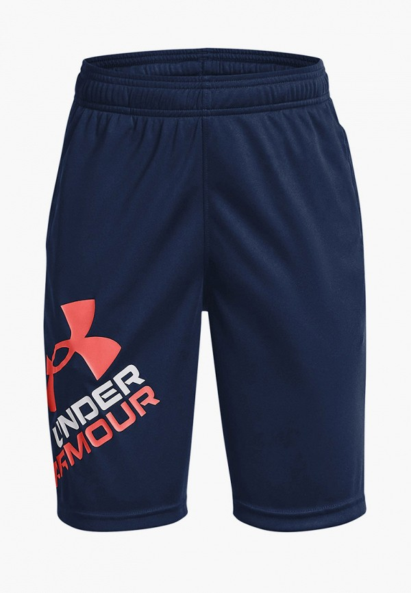 спортивные шорты under armour для мальчика, синие