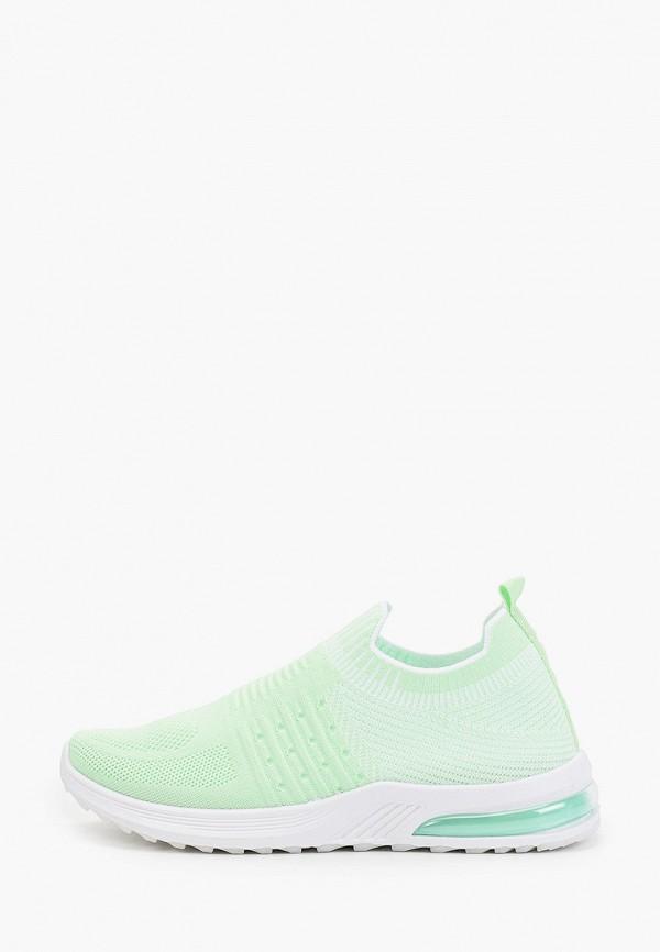 женские низкие кроссовки crosby, зеленые