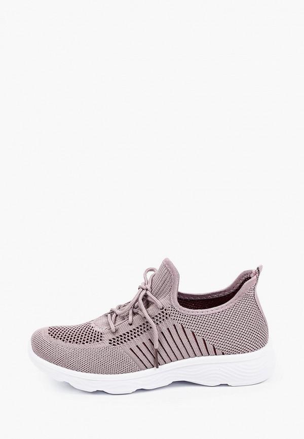 женские низкие кроссовки crosby, фиолетовые