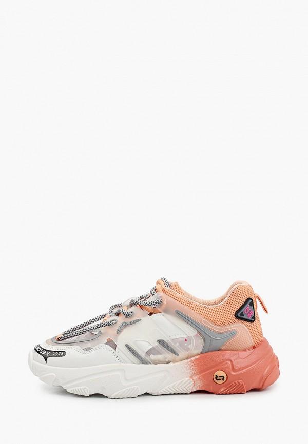 женские низкие кроссовки crosby, разноцветные