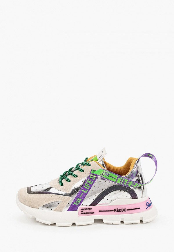 женские низкие кроссовки keddo, разноцветные