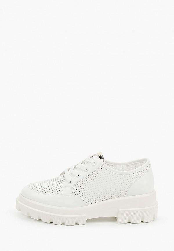 женские ботинки-оксфорды keddo, белые