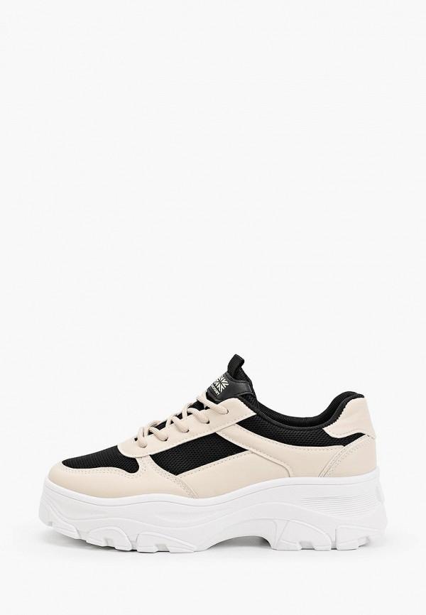 ботинки crosby для девочки, бежевые