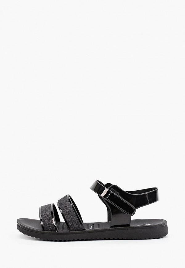 сандалии keddo для девочки, черные