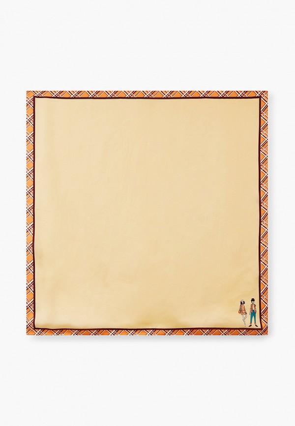 женский платок venera, желтый