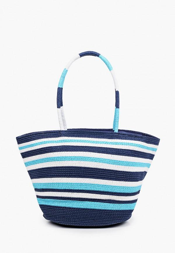 женская пляжные сумка venera, синяя