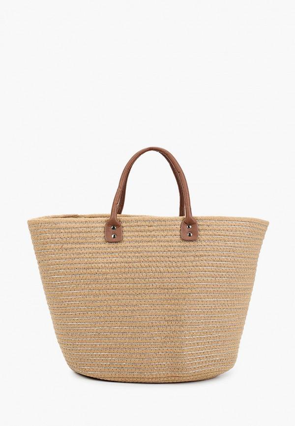 женская пляжные сумка venera, бежевая