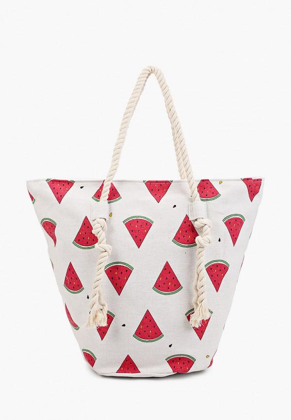женская пляжные сумка venera, белая
