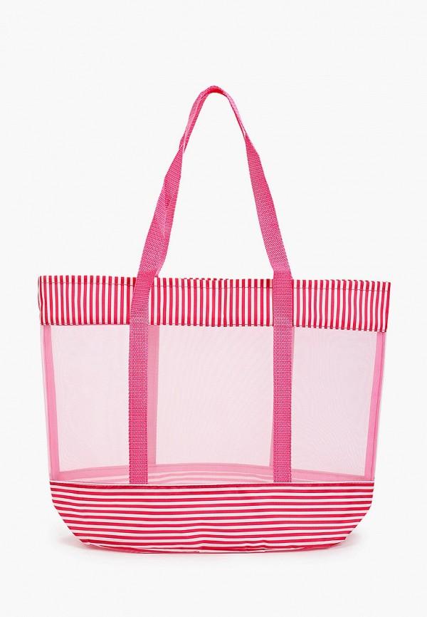 женская пляжные сумка venera, розовая