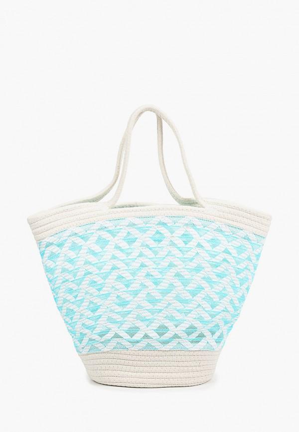женская пляжные сумка venera, бирюзовая