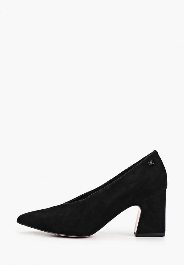 женские туфли respect, черные