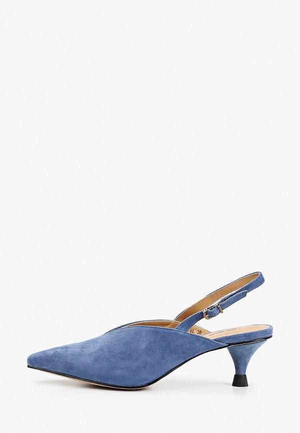 женские туфли corso como, синие