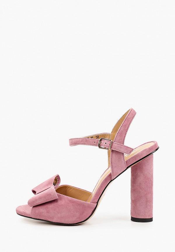 женские босоножки corso como, розовые