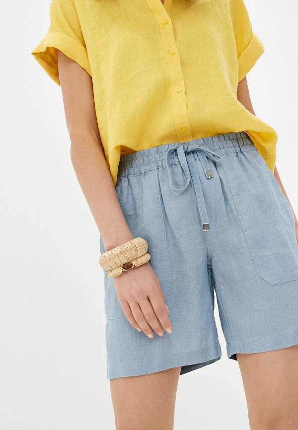 женские повседневные шорты lauren ralph lauren, голубые