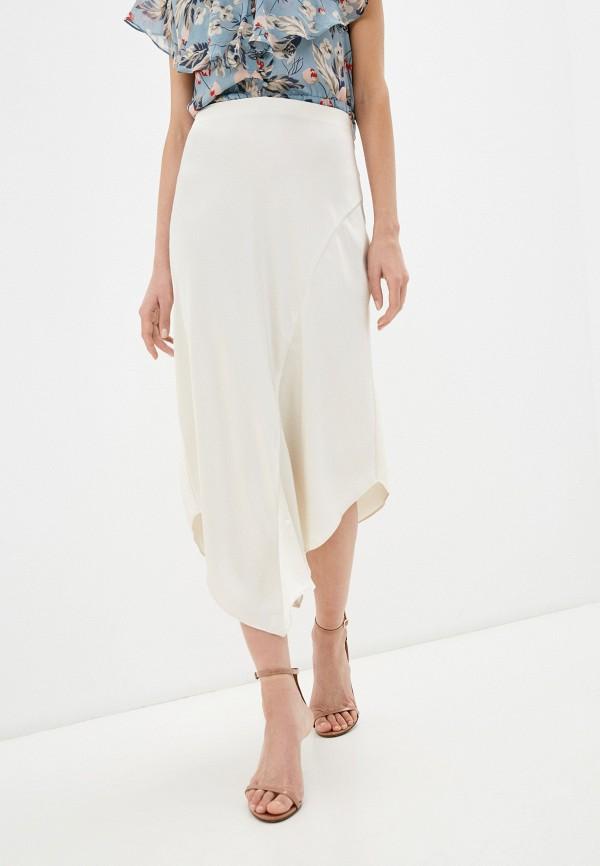 женская юбка lauren ralph lauren, бежевая